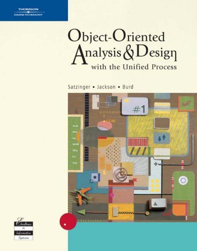 Object-Oriented Analysis and Design With the Unified Process  2005 edition cover