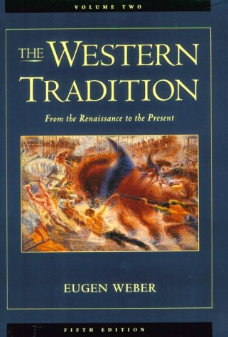 Western Tradition From the Renaissance to the Present 5th 1995 edition cover