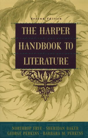 Harper Handbook to Literature  2nd 1997 edition cover