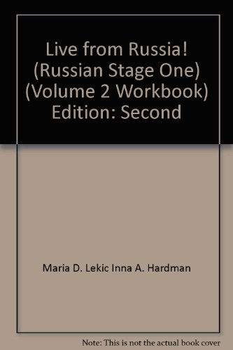 Russian Stage One Live from... Volume 2 Workbook N/A edition cover