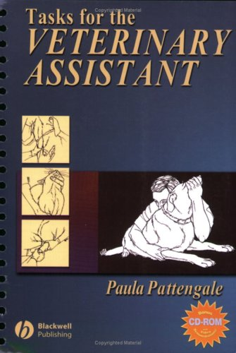 Tasks for the Veterinary Assistant   2004 edition cover
