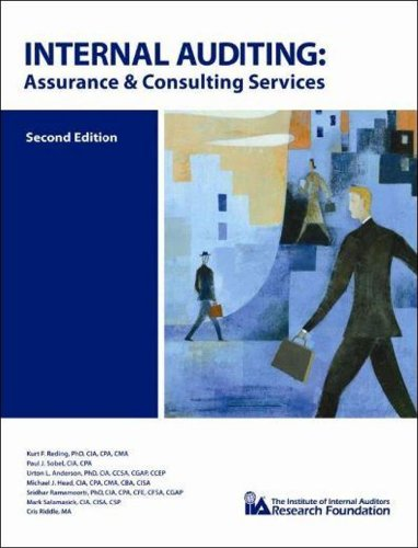 Internal Auditing Assurance and Consulting Services  2009 edition cover