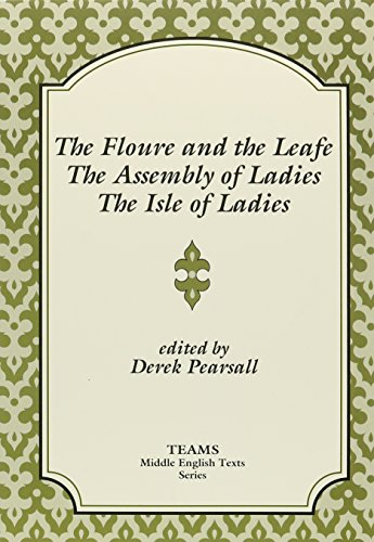 Floure and the Leafe; The Assembly of Ladies; The Isle of Ladies   1990 edition cover