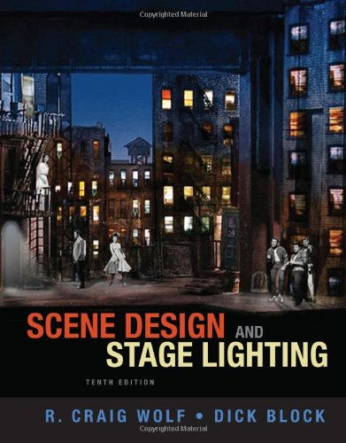 Scene Design and Stage Lighting  10th 2014 edition cover