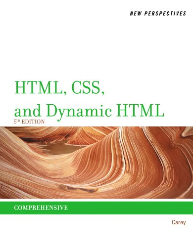 New Perspectives on HTML, CSS, and Dynamic HTML  5th 2013 edition cover