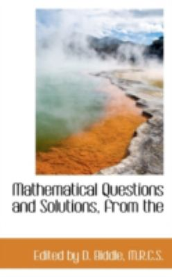 Mathematical Questions and Solutions, From  N/A edition cover