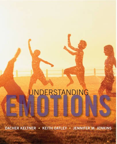 Understanding Emotions  3rd 2014 9781118147436 Front Cover