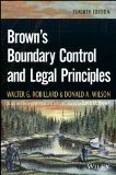 Brown's Boundary Control and Legal Principles  7th 2014 edition cover