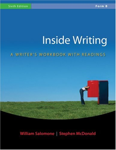 Inside Writing  6th 2009 (Workbook) edition cover