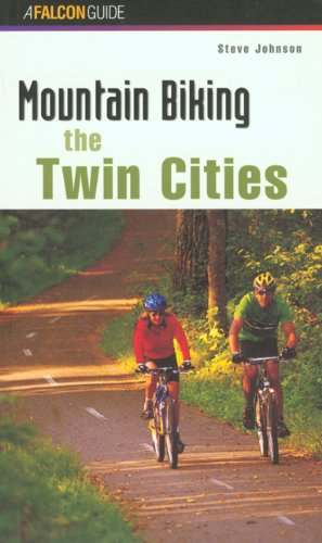 Mountain Biking the Twin Cities   1999 9781560447436 Front Cover