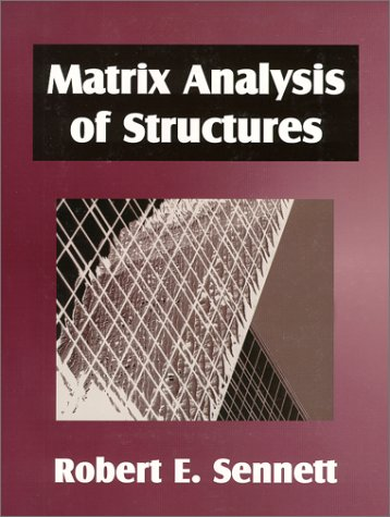 Matrix Analysis of Structures  N/A edition cover