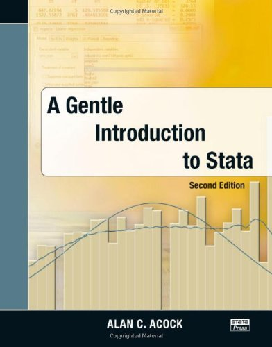 Gentle Introduction to Stata, 2nd Edition  2nd 2008 edition cover