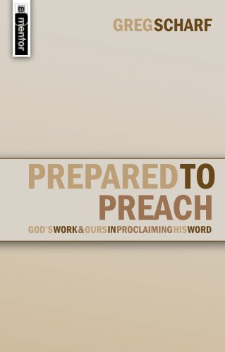 Prepared to Preach God's Work and Ours in Proclamation  2007 edition cover