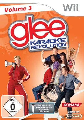 Karaoke Revolution Glee Vol. 3 Nintendo Wii artwork