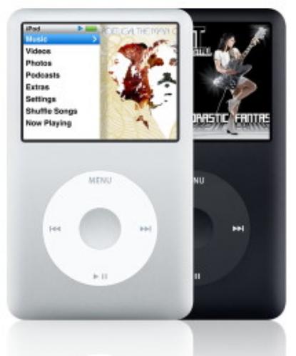 Apple iPod Classic - 30GB - Black (5th Generation) product image