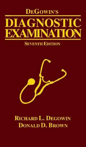 DeGowin's Diagnostic Examination  7th 2000 9780070164437 Front Cover