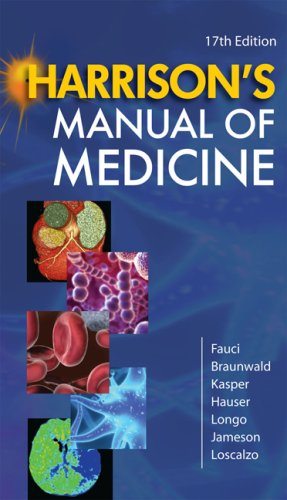 Manual of Medicine  17th 2009 edition cover