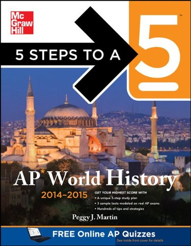 5 Steps to a 5 AP World History, 2014-2015:   2013 edition cover