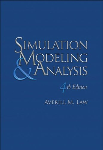 Simulation Modeling and Analysis  4th 2007 edition cover