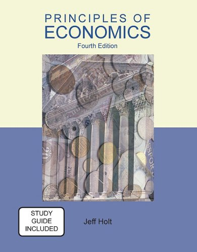 Principles of Economics  4th 2010 edition cover