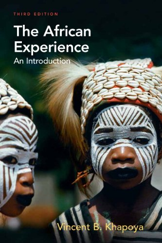 African Experience An Introduction 3rd 2010 edition cover
