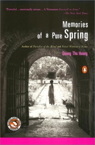 Memories of a Pure Spring   2001 9780140298437 Front Cover