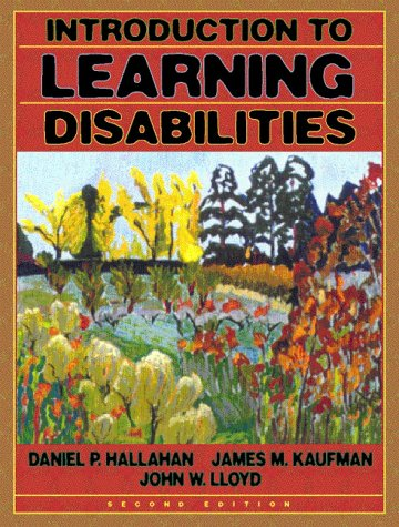 Introduction to Learning Disabilities  2nd 1999 edition cover