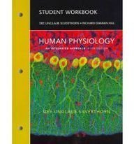 Student Workbook for Human Physiology An Integrated Approach 5th 2010 edition cover