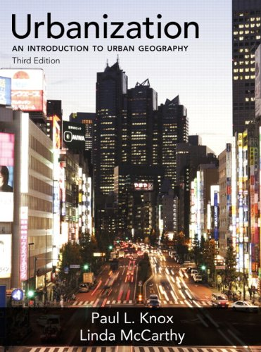 Urbanization An Introduction to Urban Geography 3rd 2012 (Revised) edition cover