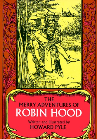 Merry Adventures of Robin Hood   1968 (Reprint) edition cover