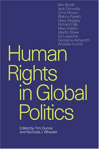 Human Rights in Global Politics   1999 9780521646437 Front Cover