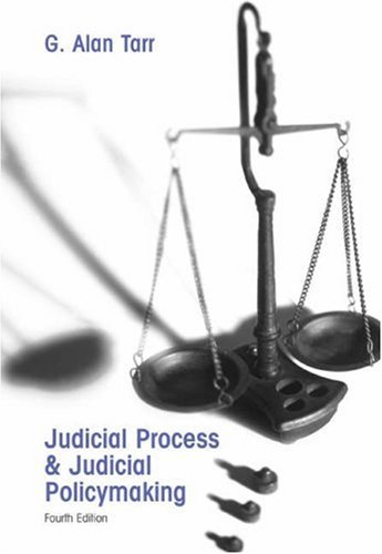 Judicial Process and Judicial Policymaking  4th 2006 (Revised) 9780534602437 Front Cover