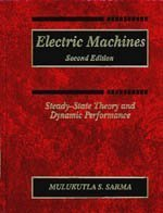 Electric Machines Steady-State Theory and Dynamic Performance 2nd 1994 edition cover