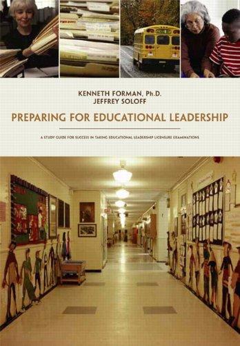 Preparing for Educational Leadership   2011 edition cover