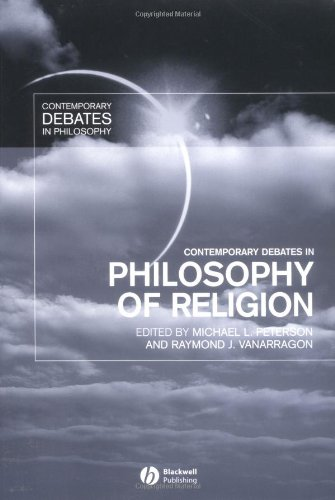 Contemporary Debates in Philosophy of Religion   2003 edition cover