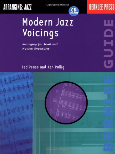 Modern Jazz Voicings Arranging for Small and Medium Ensembles  2001 edition cover