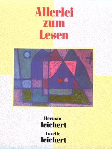 Allerlei zum Lesen 1st edition cover