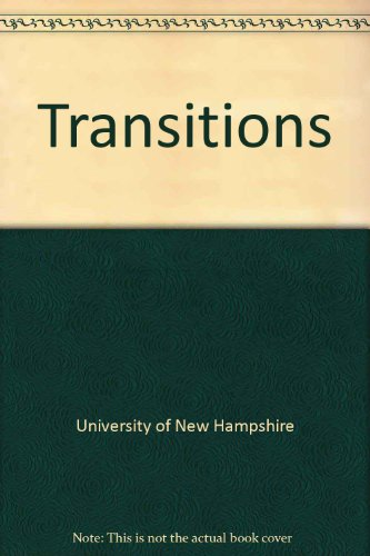 Transitions Revised 9780757522437 Front Cover