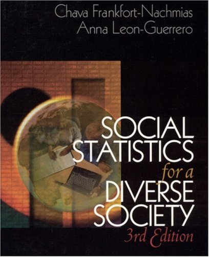 Social Statistics for a Diverse Society  3rd 2002 9780761987437 Front Cover