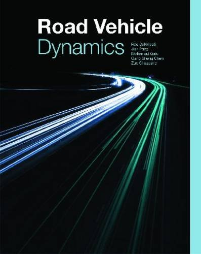 Road Vehicle Dynamics   2008 edition cover