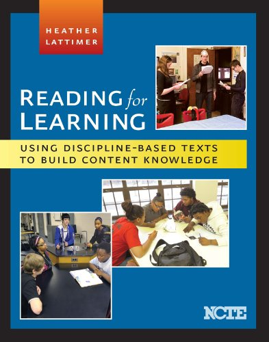 Reading for Learning : Using Discipline-Based Texts to Build Content Knowledge N/A edition cover