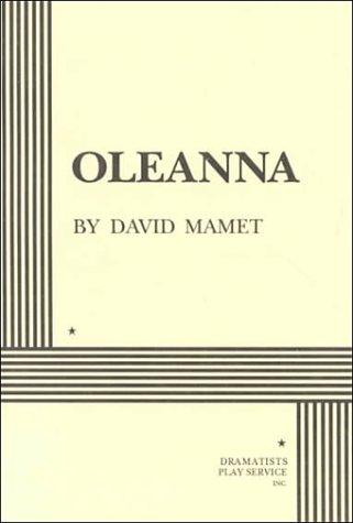 Oleanna  N/A edition cover
