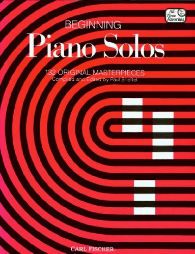 Beginning Piano Solos 1st edition cover