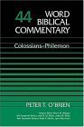 Colossians-Philemon   1982 edition cover