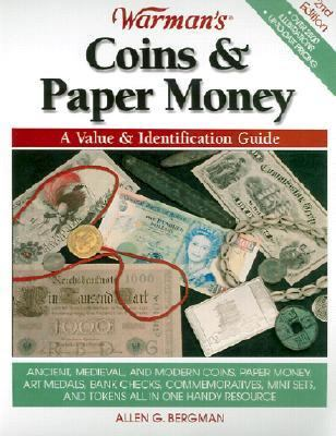 Warman's Coins and Paper Money A Value and Identification Guide 2nd 2002 (Revised) 9780873493437 Front Cover