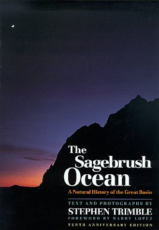 Sagebrush Ocean A Natural History of the Great Basin 10th (Anniversary) edition cover