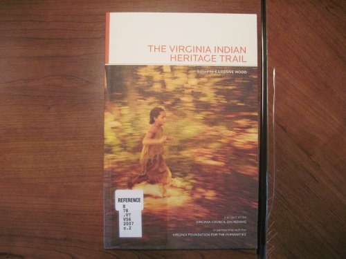 Virginia Indian Heritage Trail  2007 edition cover