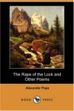 Rape of the Lock and Other Poems  N/A 9781406566437 Front Cover
