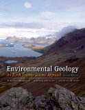 Environmental Geology: An Earth Systems Approach  2014 edition cover