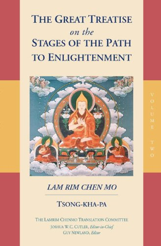 Great Treatise on the Stages of the Path to Enlightenment (Volume 2)   2015 9781559394437 Front Cover